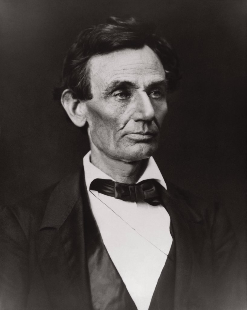 Stock Photo: 255-4260 Abraham Lincoln, 1809-1865, 16th President of the United States