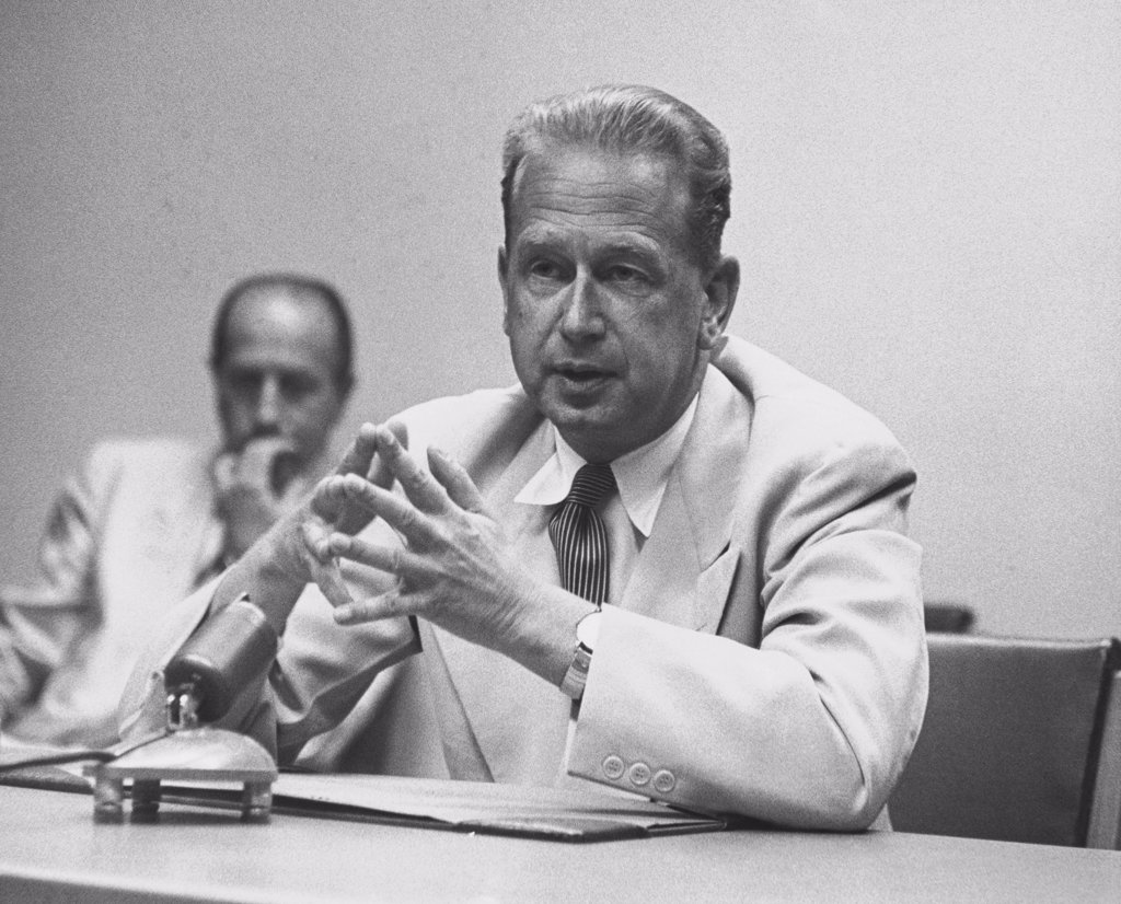 Stock Photo: 255-43306 Dag Hammarskjold (1905-1961), Second Secretary-General of the United Nations