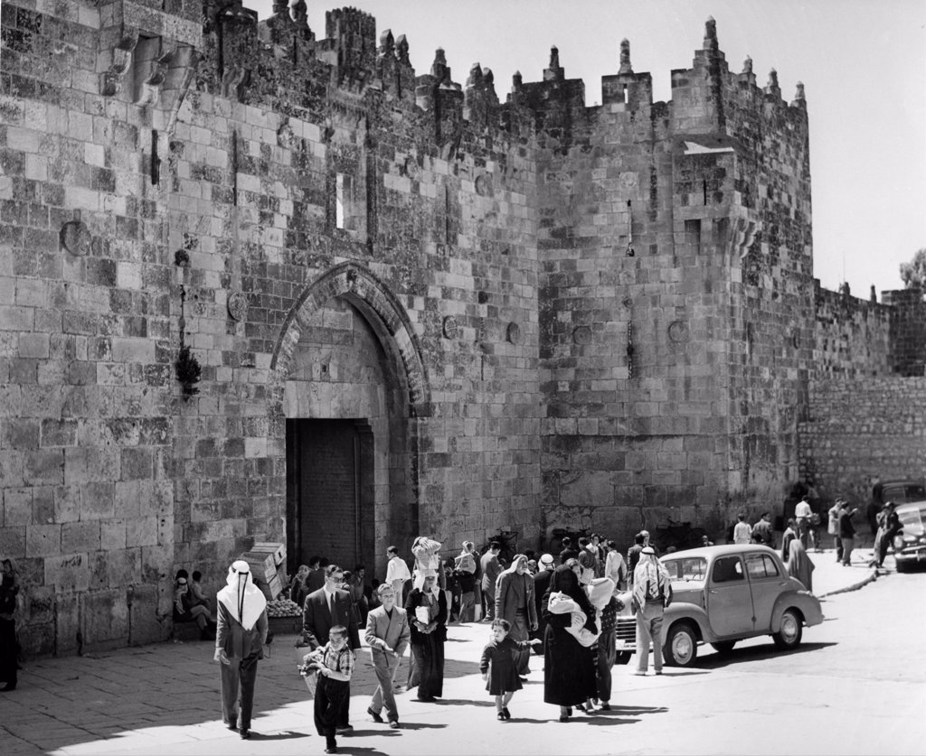 Stock Photo: 255-47804 Damascus Gate
