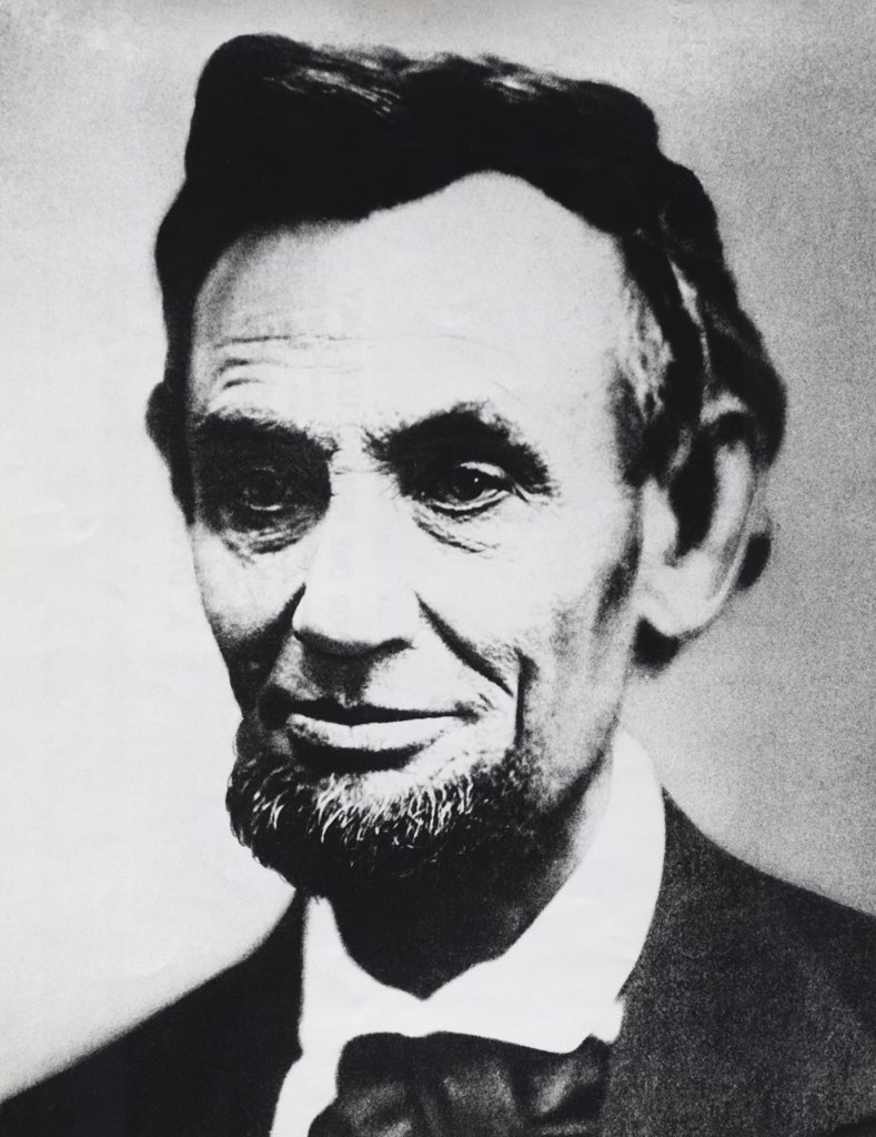 Stock Photo: 255-50161 Abraham Lincoln, (1809-1865), 16th President of the United States