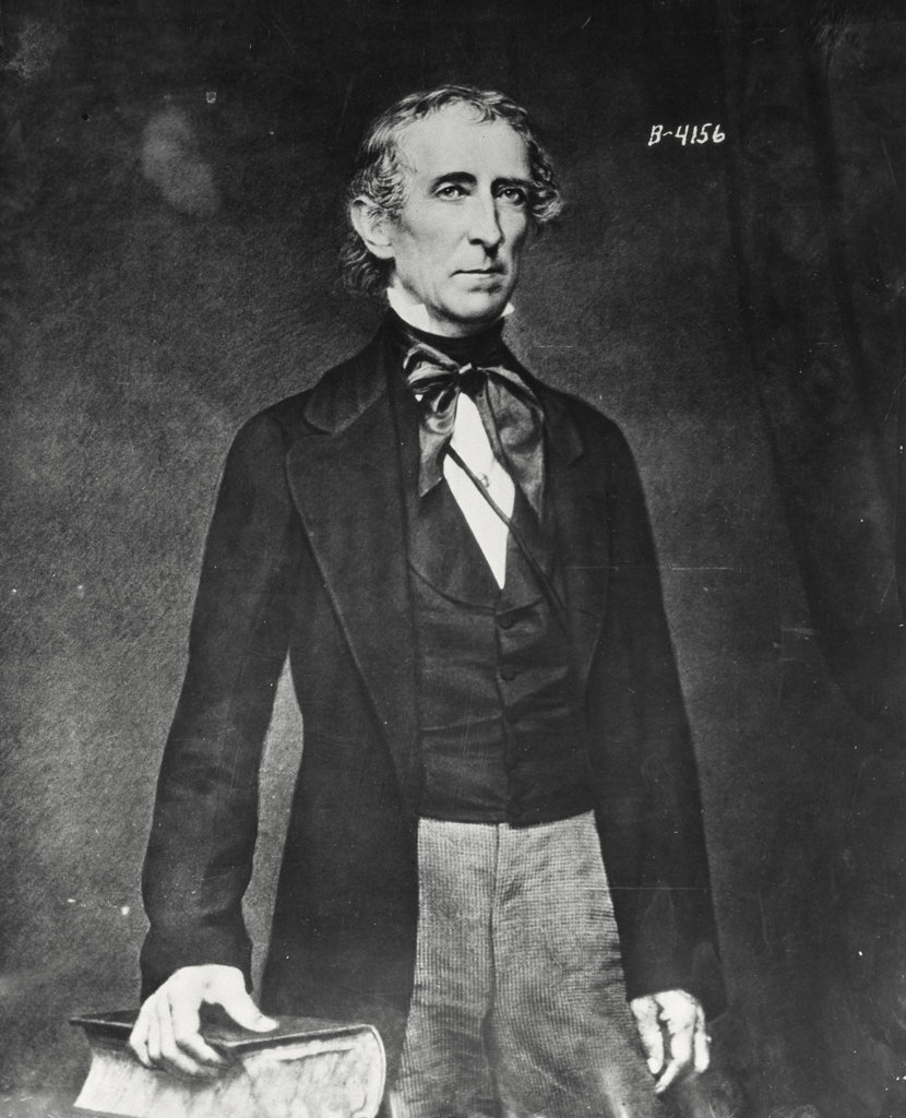 Stock Photo: 255-5949 John Tyler