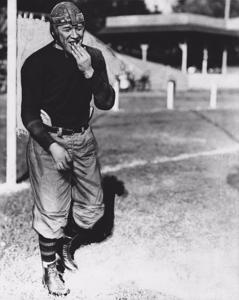 Stock Photo: 255-6390 Jim Thorpe Olympic Athlete and Pro Football Player (1888-1953)
