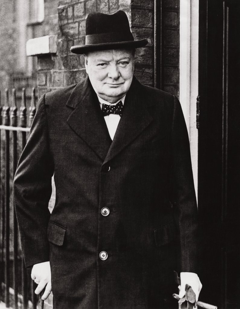 Stock Photo: 255-6393 Winston Churchill British Prime Minister (1874-1965)