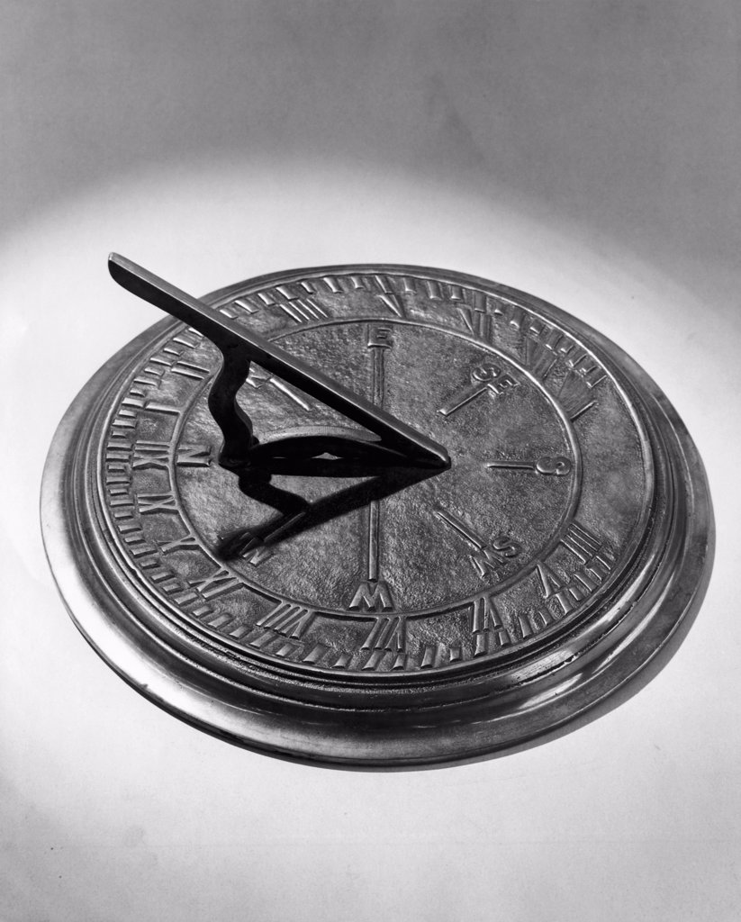 Close-up of a sundial : Stock Photo