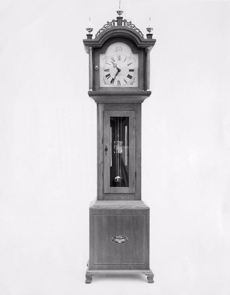Stock Photo: 255-7680 Antique grandfather clock