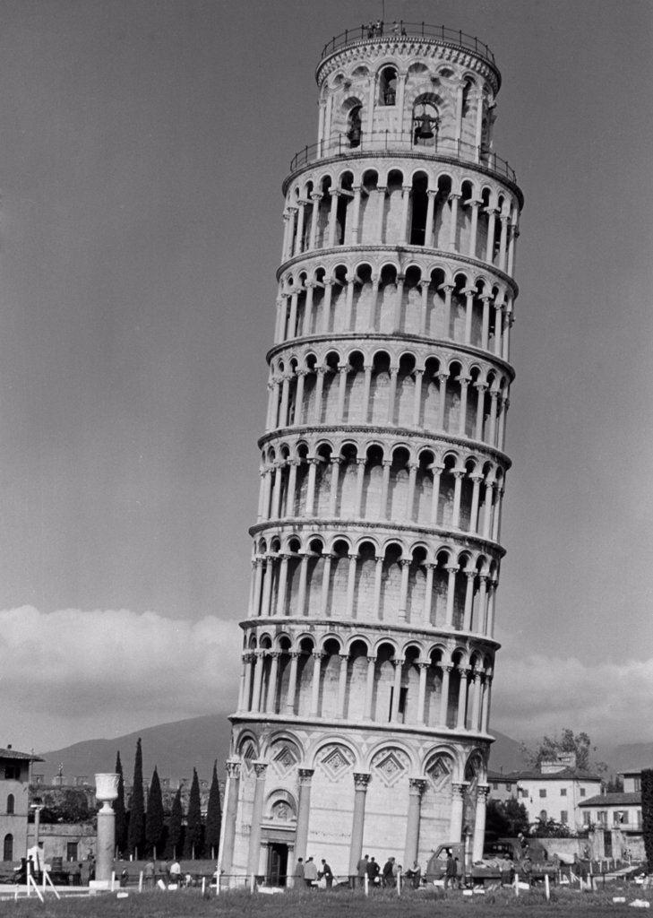 Stock Photo: 255-8120 Leaning Tower 