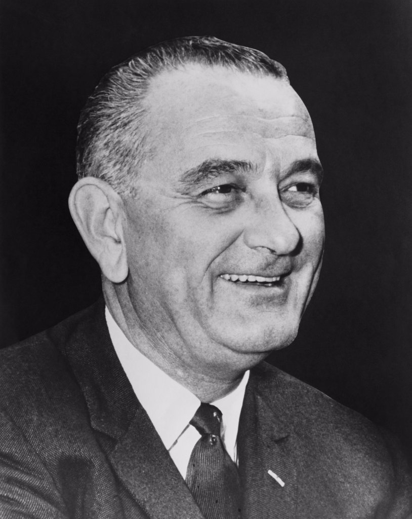 Lyndon Baines Johnson, 36th President of the United States, (1908-1973) : Stock Photo