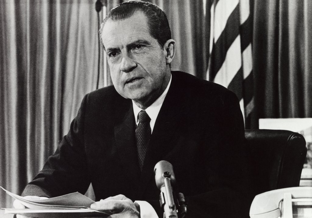 Stock Photo: 255-9420 Richard Milhous Nixon