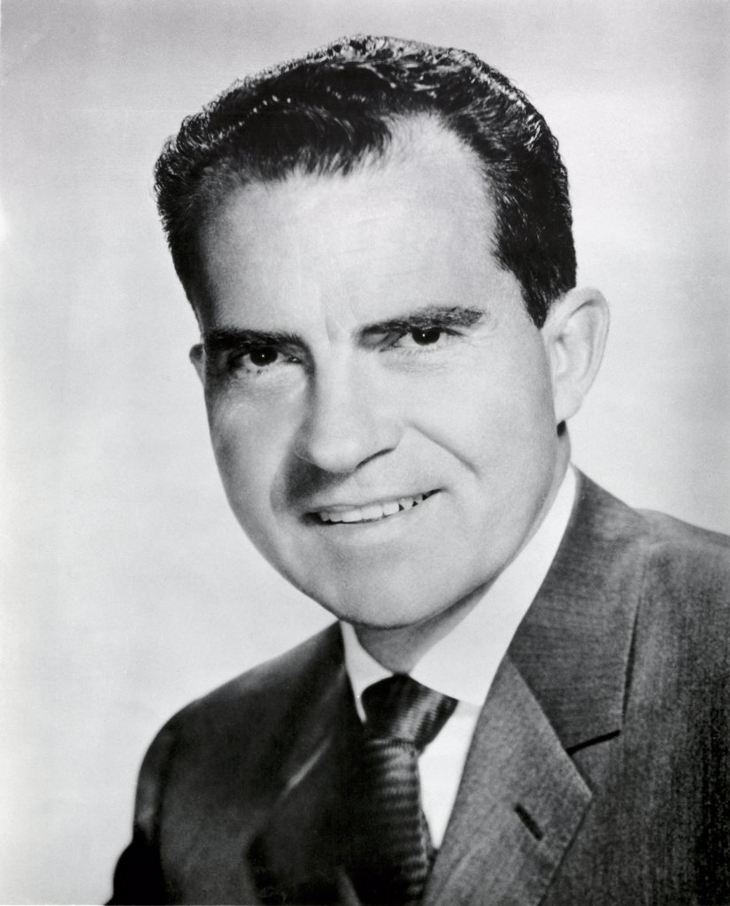 Stock Photo: 255-9897 Richard Milhous Nixon during his Vice-Presidency 