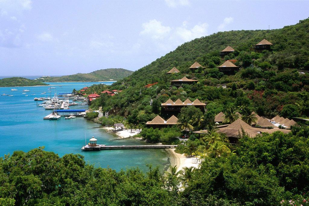 Bitter End Yacht Club, Virgin Gorda, British Virgin Islands : Stock Photo