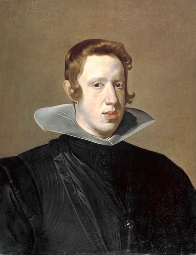 Stock Photo: 260-1056 Philip IV by Diego Velazquez, 1599-1660