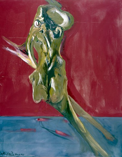 Torso, by Graham Sutherland, 1903-1980 : Stock Photo