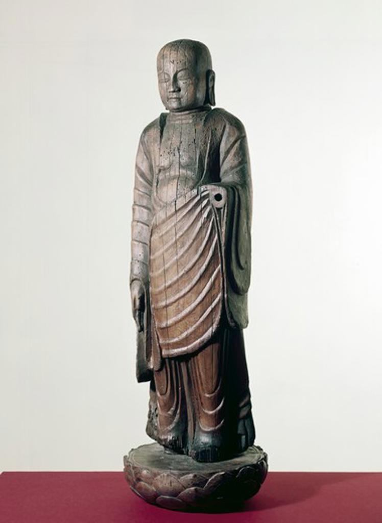 Stock Photo: 260-1088 Jizo Bodhisattva by unknown artist