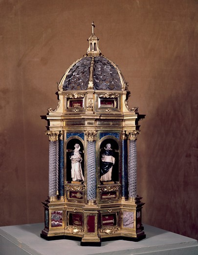 Stock Photo: 260-1103 Reliquary of the Dominican Saints
