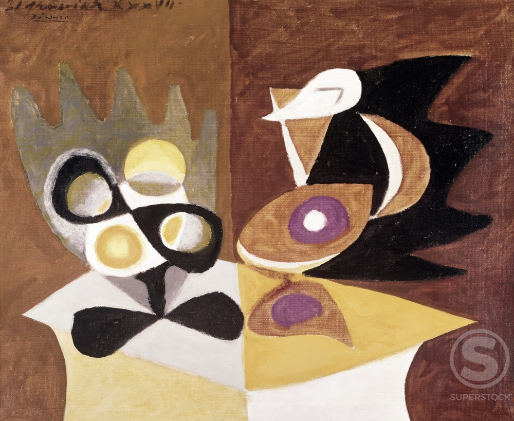 Title Unknown by Pablo Picasso, 1881-1973, Thannhauser Collection : Stock Photo