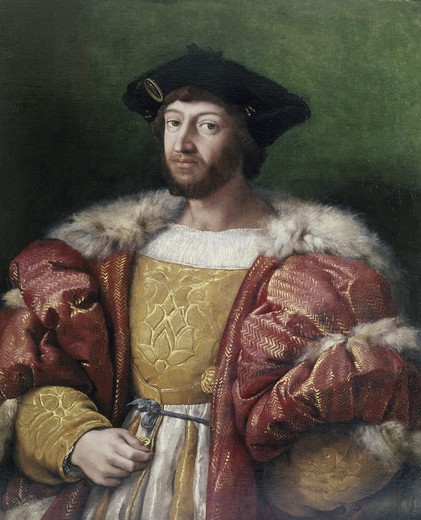 Stock Photo: 260-1222 Portrait of Lorenzo de'Medici Raphael