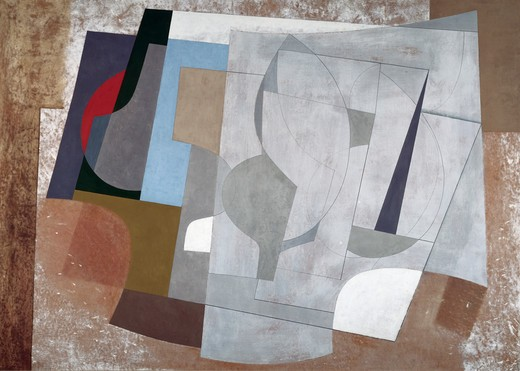 Stock Photo: 260-1377 Title Unknown by Ben Nicholson, 1894-1982, USA, Washington DC, Smithsonian Institution