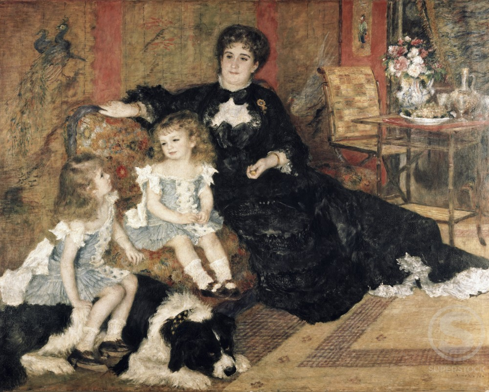 Stock Photo: 260-159 Madame Carpenter and Her Children 