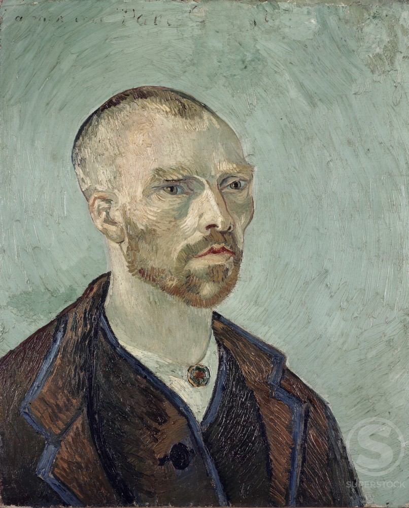 Stock Photo: 260-195 Self-Portrait 