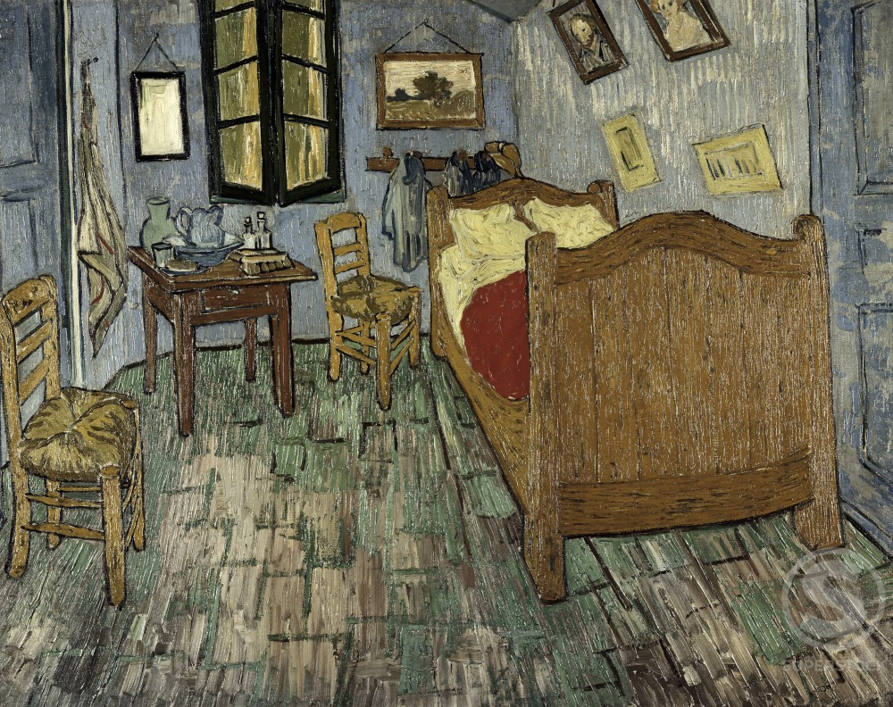 Stock Photo: 260-198 Vincent's Bedroom in Arles
