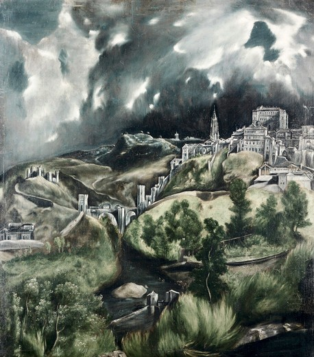 Stock Photo: 260-288 View Of Toledo