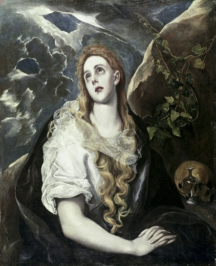 Stock Photo: 260-289 St. Mary Magdalene In Penitence