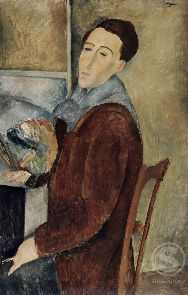 Stock Photo: 260-299 Self-Portrait 