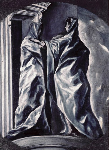 Stock Photo: 260-301 The Visitation