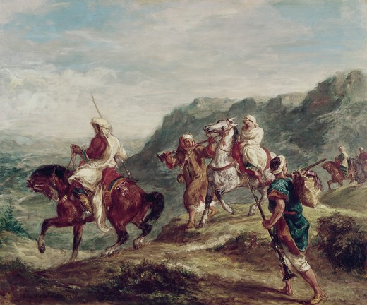 Stock Photo: 260-473 Arabs Traveling