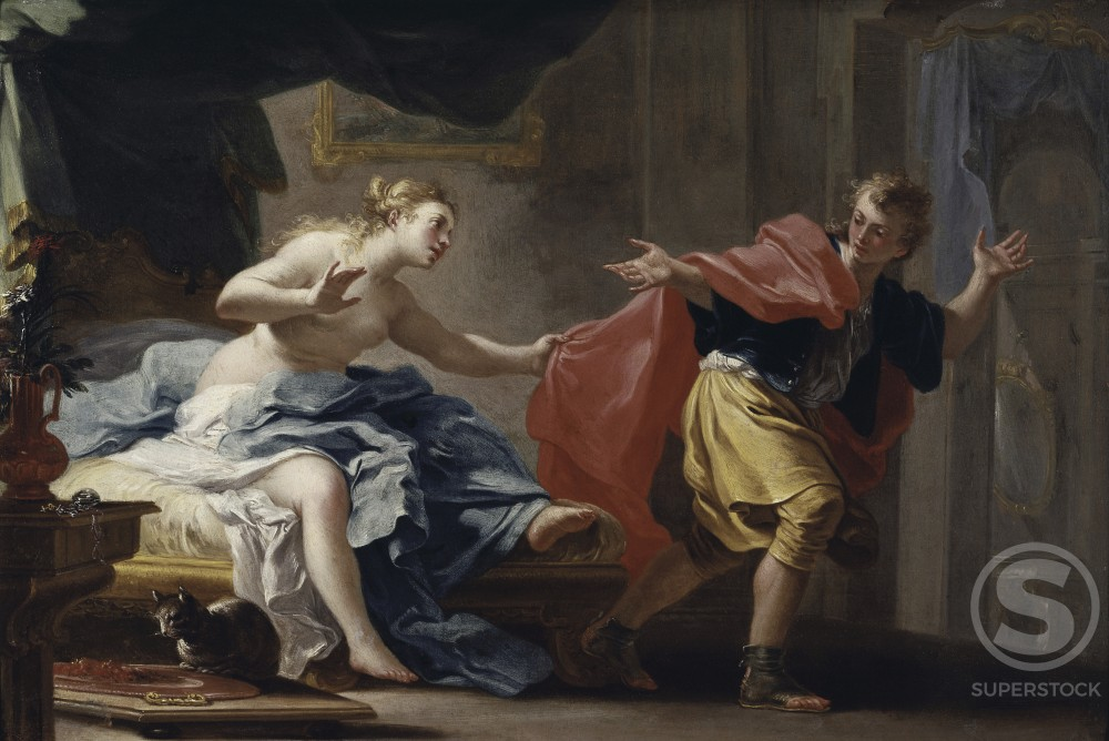 Stock Photo: 260-501 Joseph and Potiphar's Wife 
