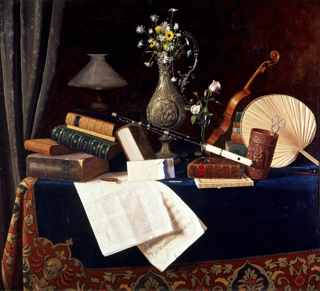 Stock Photo: 260-510 Still Life--Ease