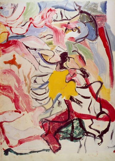 Stock Photo: 260-516 Devon by Willem de Kooning, 1904-1997