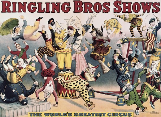 Stock Photo: 260-521 Ringling Brothers Shows