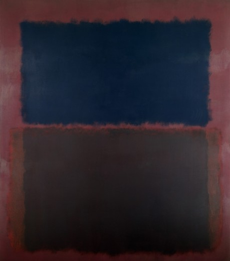 Stock Photo: 260-600 Pink, Grey and Pink by Mark Rothko, 1903-1970, USA, New York State, New York City, Pace Gallery