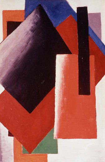 Stock Photo: 260-633 Architectonic Composition 1918 Ljubov Sergeevna Popova (1889-1924 Russian)