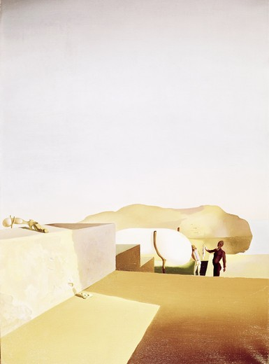 Stock Photo: 260-644 Persistence of fair weather by Salvador Dali, 1934, 1904-1989