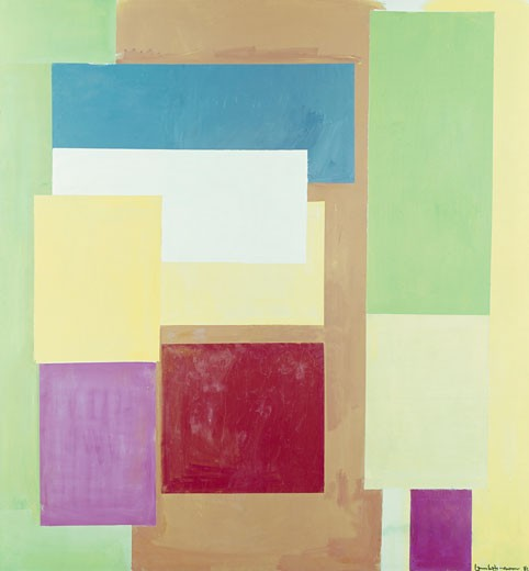 Lumen naturale by Hans Hofmann, 1962, 1880-1966 : Stock Photo