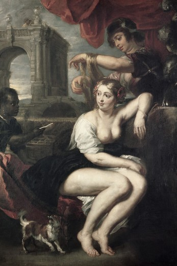 Stock Photo: 260-690 Bathsheba at the Spring