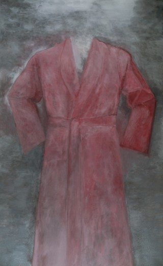 Stock Photo: 260-742 North Italia robe by Jim Dine, born 1935, USA, New York State, New York City, Pace Gallery
