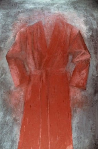 Stock Photo: 260-743 Cardinal by Jim Dine, born 1935, USA, New York State, New York City, Pace Gallery