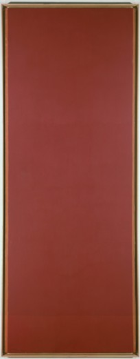 Day one by Barnett Newman, oil on canvas, 1951-52, 1905-1970, USA, New York State, New York City, Whitney Museum of American Art : Stock Photo
