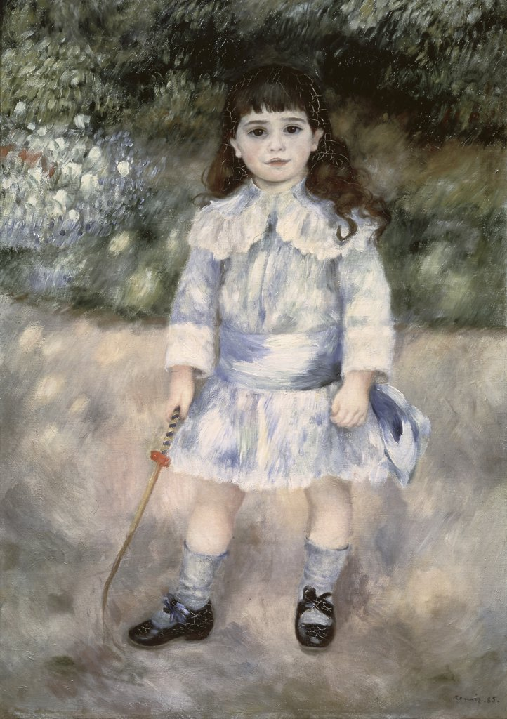 Stock Photo: 261-114 Child with a Whip