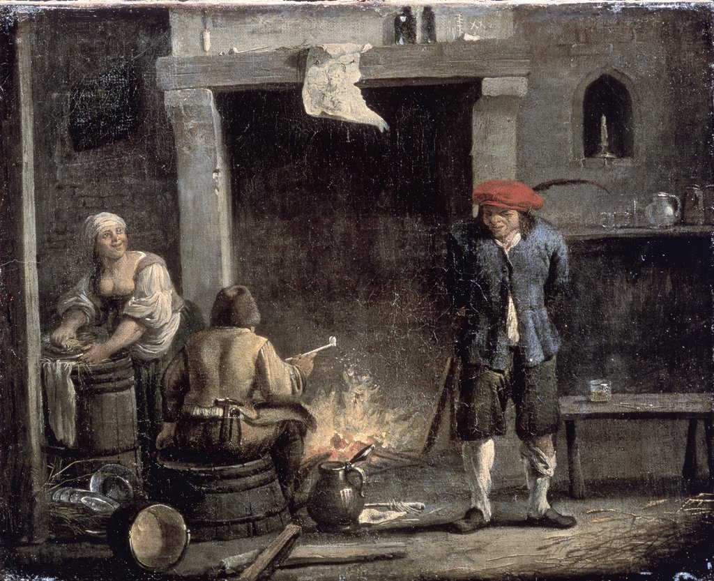 Stock Photo: 261-137 The Hearth