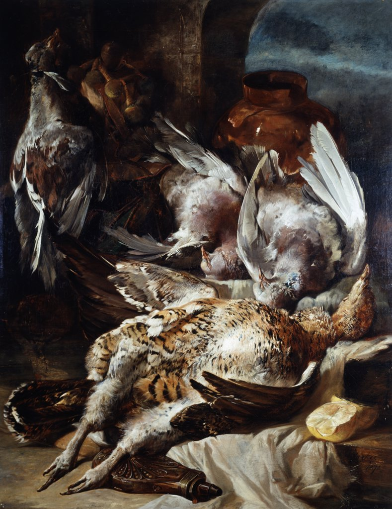 Stock Photo: 261-147 Still Life of Dead Game
