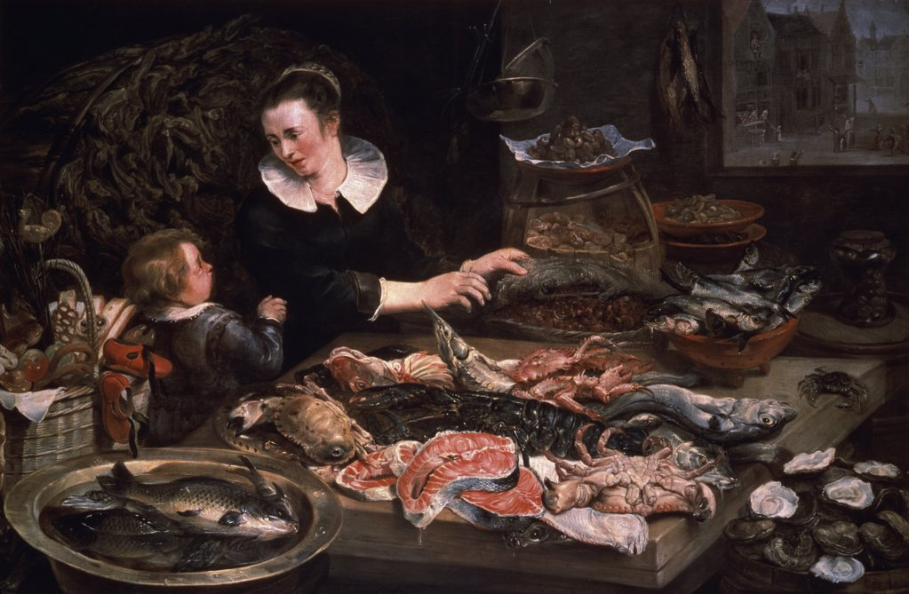 Stock Photo: 261-148 The Fish Market