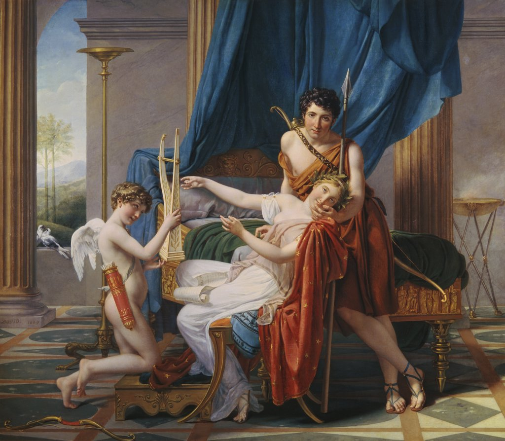 Stock Photo: 261-164 Sappho & Phaon