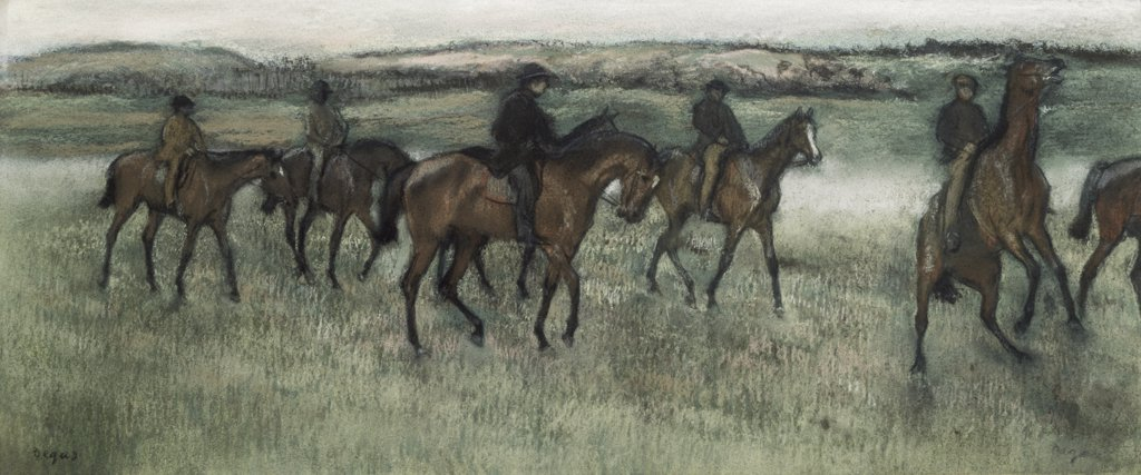 Stock Photo: 261-170 Race Horses 