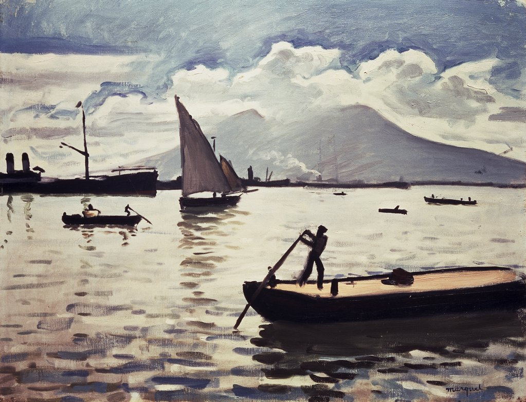 Stock Photo: 261-201 In Naples by Albert Marquet, oil on canvas, 1875-1947, Russia, St. Petersburg, Hermitage Museum