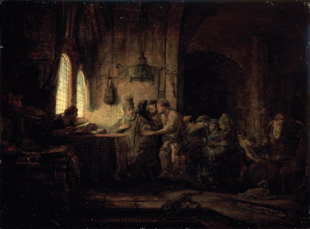 Stock Photo: 261-317 Parable of the Laborers in the Vineyard 