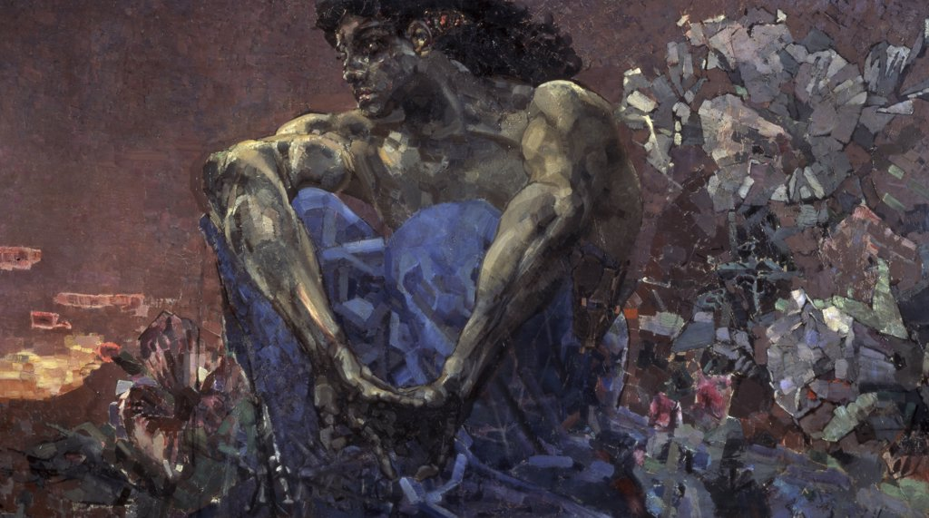 Stock Photo: 261-340 Demon Seated